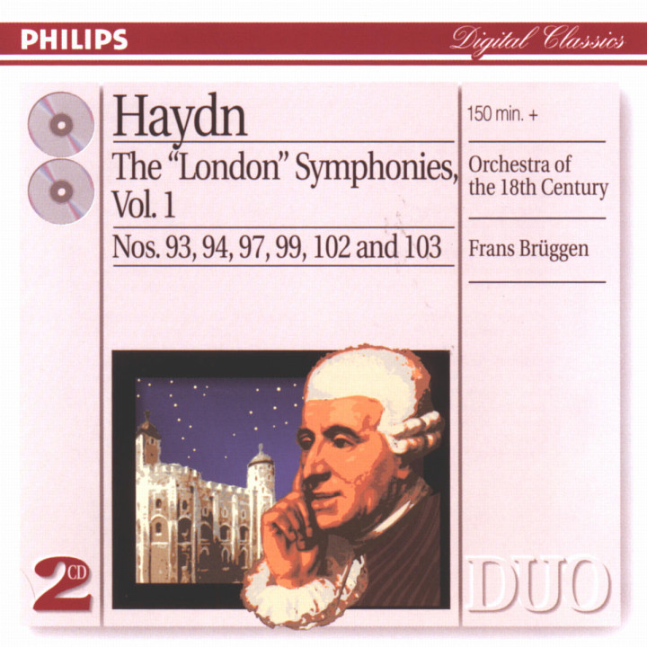 "Haydn: The ""London"" Symphonies Vol.1 0028946854620"