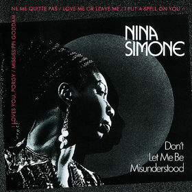 Nina Simone, Don't Let Me Be Misunderstood, 00042283430822