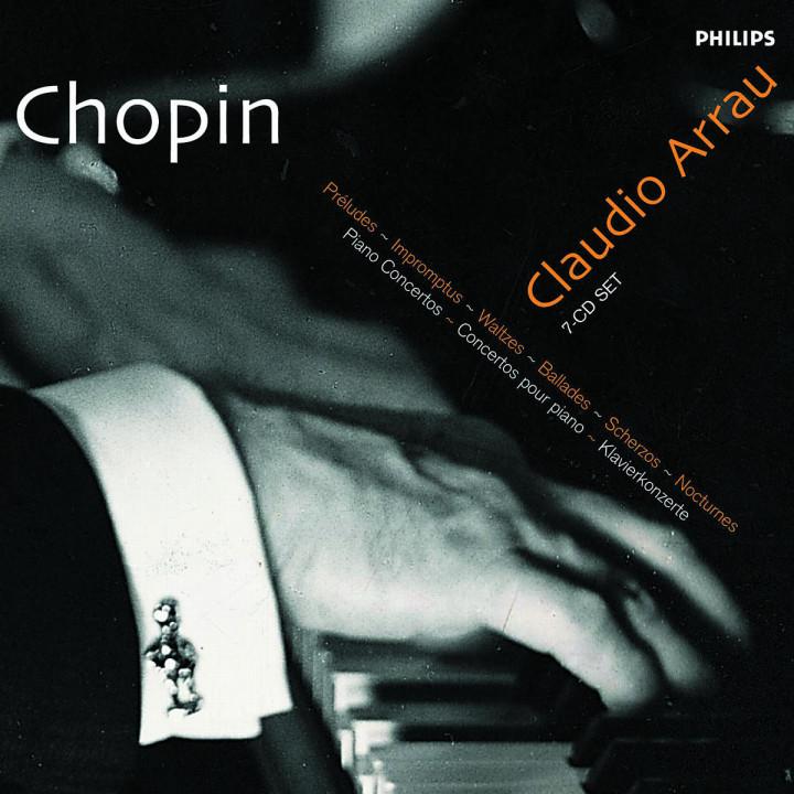 Préludes; Impromptus; Walzer; Ballades; Scherzos; Nocturnes; Klavierkonzerte 0028946839124