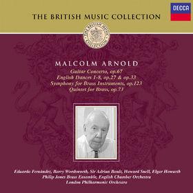 Gitarrenkonzert, English Dances, Symphony For Brass Instruments, Quintet For Brass, 00028946880326