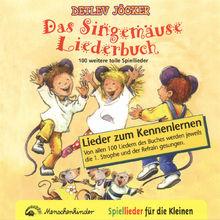 Detlev Jöcker, Das Singemäuse Liederbuch, 00000010967928