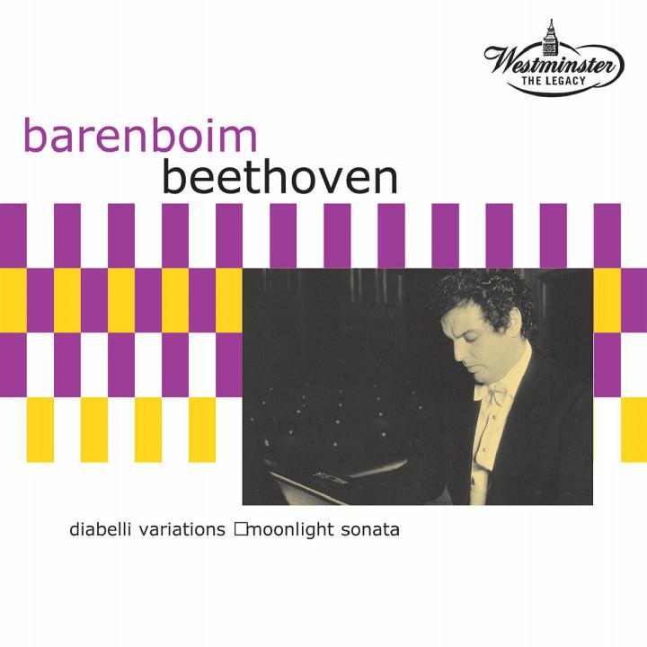 Diabelli Variationen; Mondschein-Sonate 0028947120324