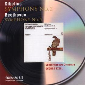 Jean Sibelius, Sinfonie Nr. 2 D-dur;  Sinfonie Nr. 5 c-moll, 00028946468227