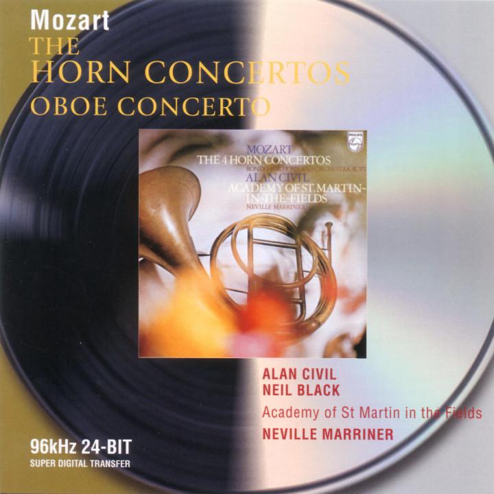 Mozart: The Horn Concertos; Oboe Concerto 0028946471722