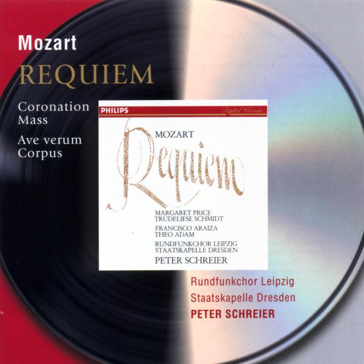 Mozart: Requiem; Coronation Mass; Ave Verum Corpus 0028946472022