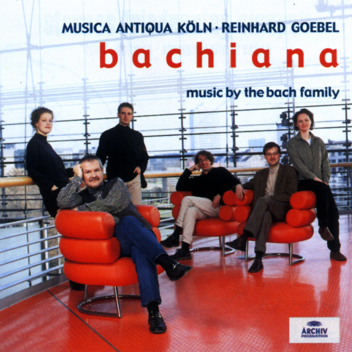 Bachiana I - Music by the Bach Family 0028947115027