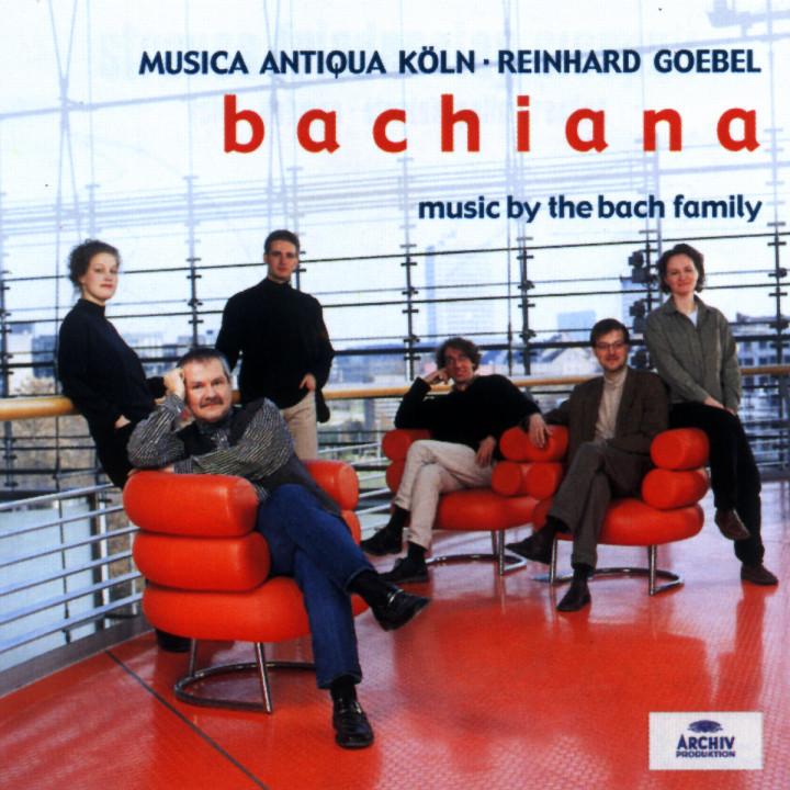 Bachiana I - Music by the Bach Family 0028947115027
