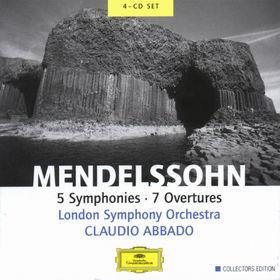 Collectors Edition, Mendelssohn: 5 Symphonies, 7 Overtures, 00028947146728