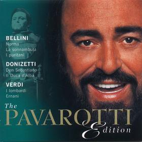 Vincenzo Bellini, The Pavarotti Edition (Vol. 2): Bellini ; Donizetti ; Verdi, 00028947000228