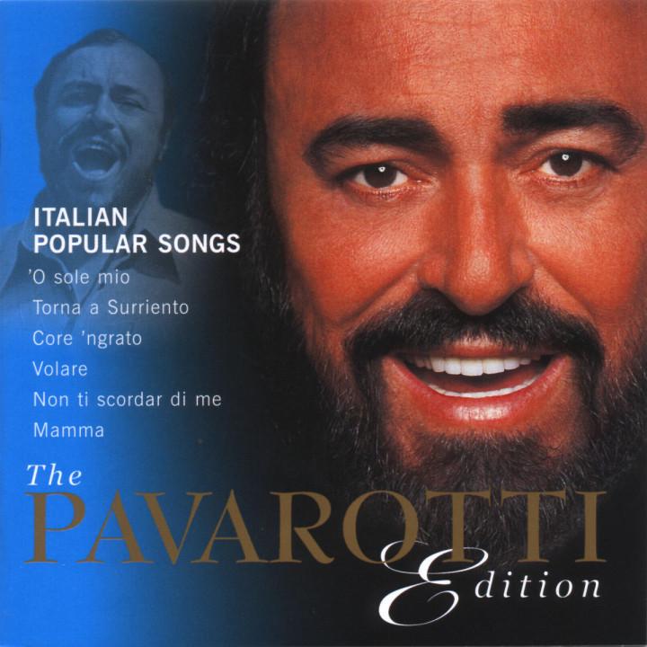 The Pavarotti Edition (Vol. 10): Italian Popular Songs 0028947001029