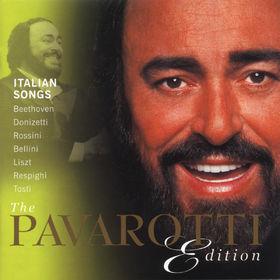 Ludwig van Beethoven, The Pavarotti Edition (Vol. 9): Italian Songs, 00028947000921