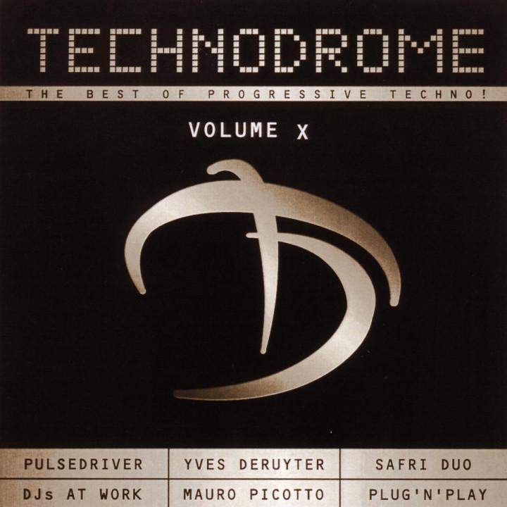 Technodrome (Vol. 10) 0731458545929