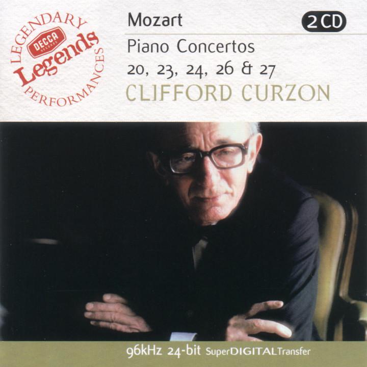 Mozart: Piano Concertos Nos.20,23,24,26 & 27 0028946849127