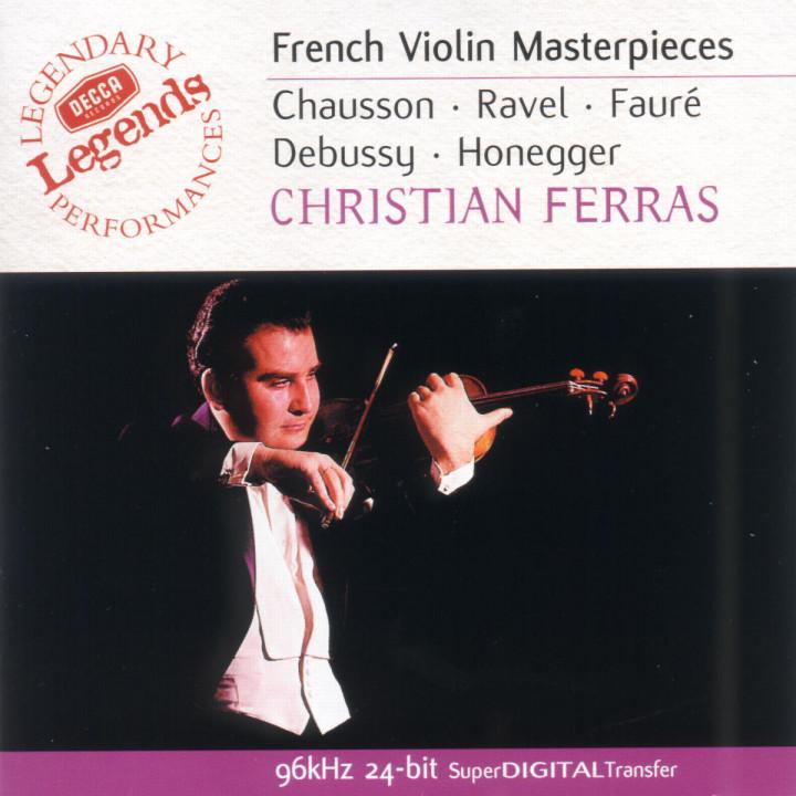 Französische Violinsonaten 0028946849622