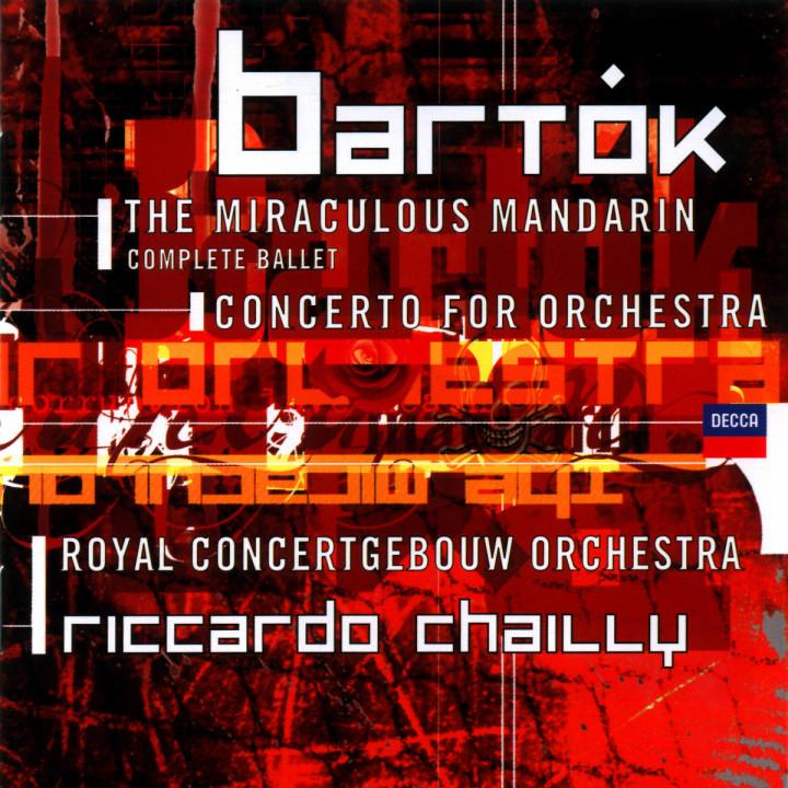 Der wunderbare Mandarin; Konzert für Orchester 0028945884121