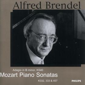 Wolfgang Amadeus Mozart, Mozart: Piano Sonatas K.322, K.333 & K.457, 00028946804827