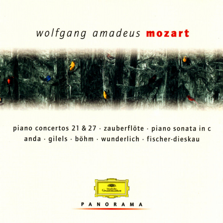 Klavierkonzerte Nr. 21 & 27; Klaviersonate C-dur; Die Zauberflöte (Auszüge) 0028946930724