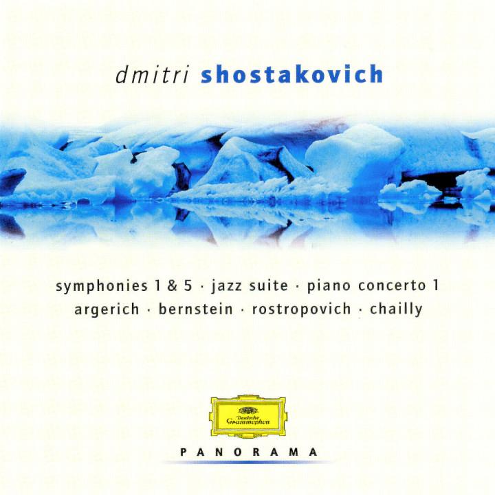 Shostakovich: Symphomies 1 & 5; Pia: no Concerto 1; String Quartet 11, e 0028946931622