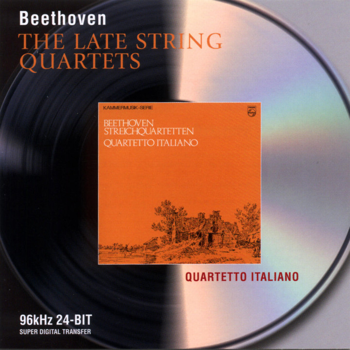Beethoven: The Late String Quartets 0028946468427
