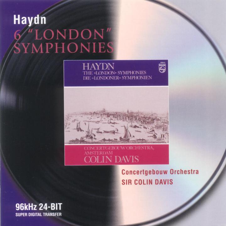 "Haydn: 6 ""London"" Symphonies 0028946470721"
