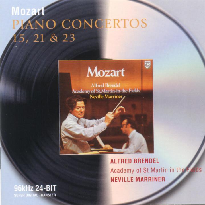 Mozart: Piano Concertos Nos.15, 21 & 23 0028946471928