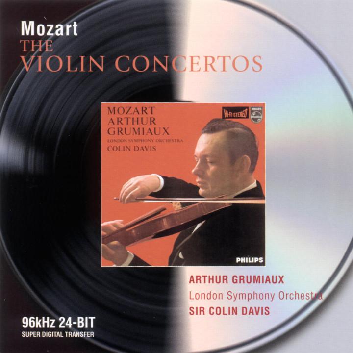 Mozart: Violin Concertos 0028946472228
