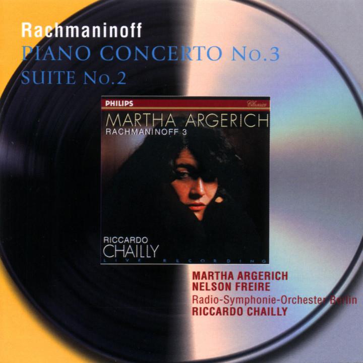 Rachmaninov: Piano Concerto No.3; Suite No.2 for 2 Pianos 0028946473229