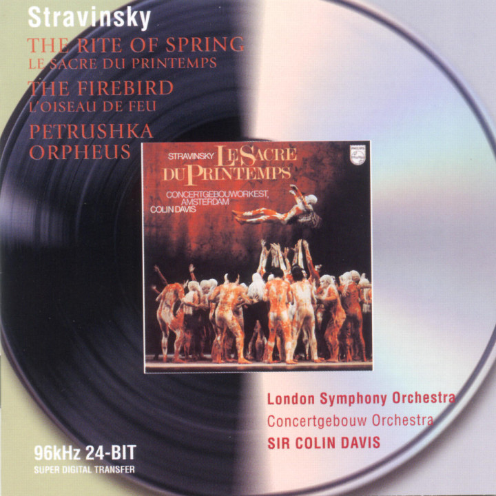 Stravinsky: Petrushka; The Firebird; The Rite of Spring; Orpheus 0028946474426