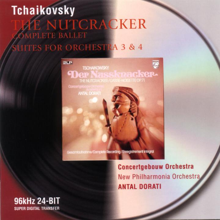 Tchaikovsky: The Nutcracker; Suites Nos.3 & 4 0028946474725