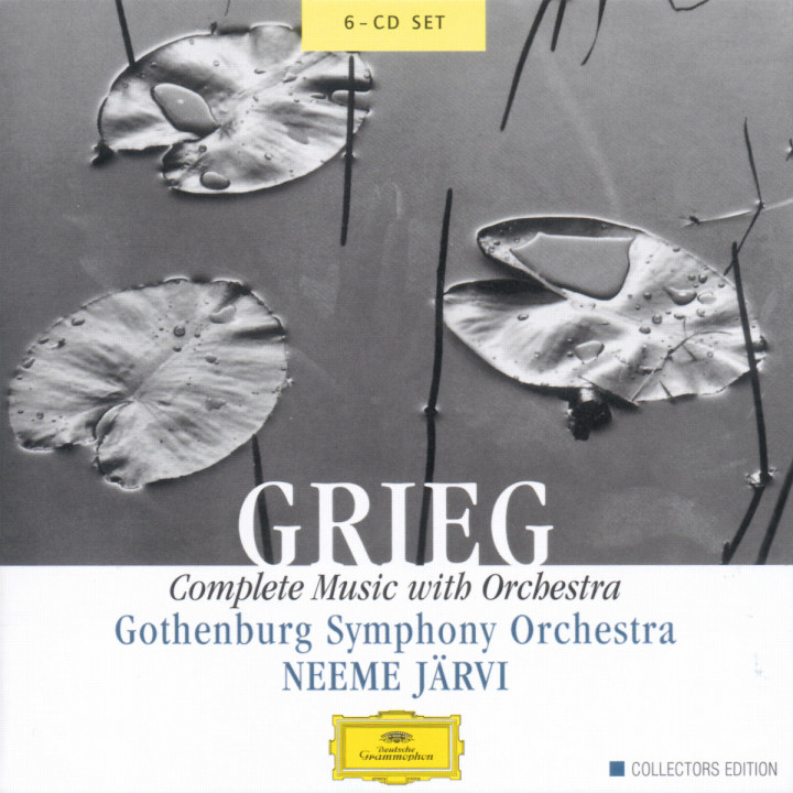 Grieg: Complete Music with Orchestra 0028947130028