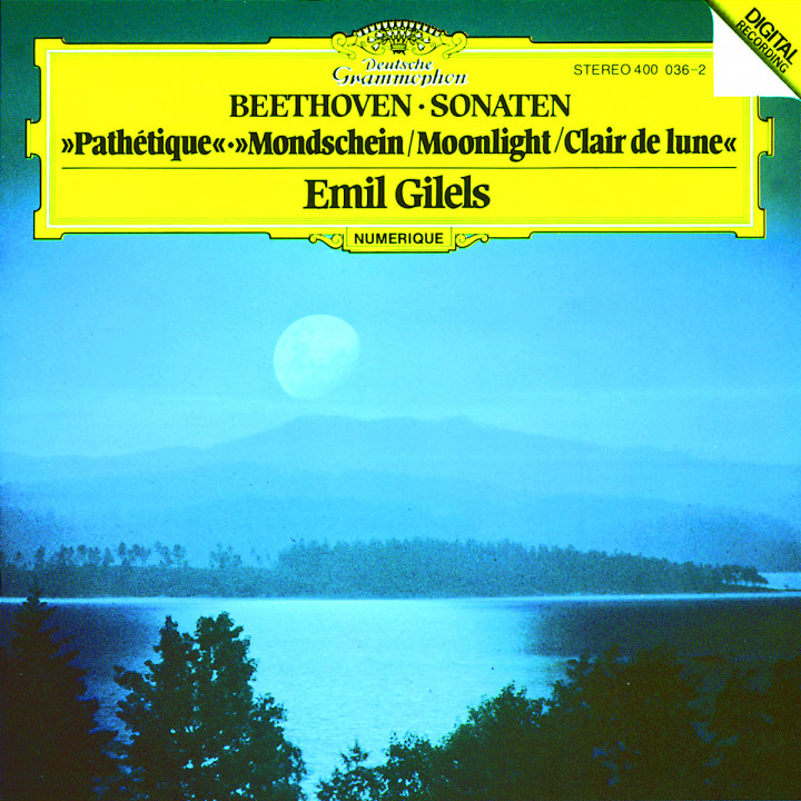 "Beethoven: Piano Sonatas Nos.8 ""Pathétique"", 13 & 14 ""Moonlight"" 0028940003628"