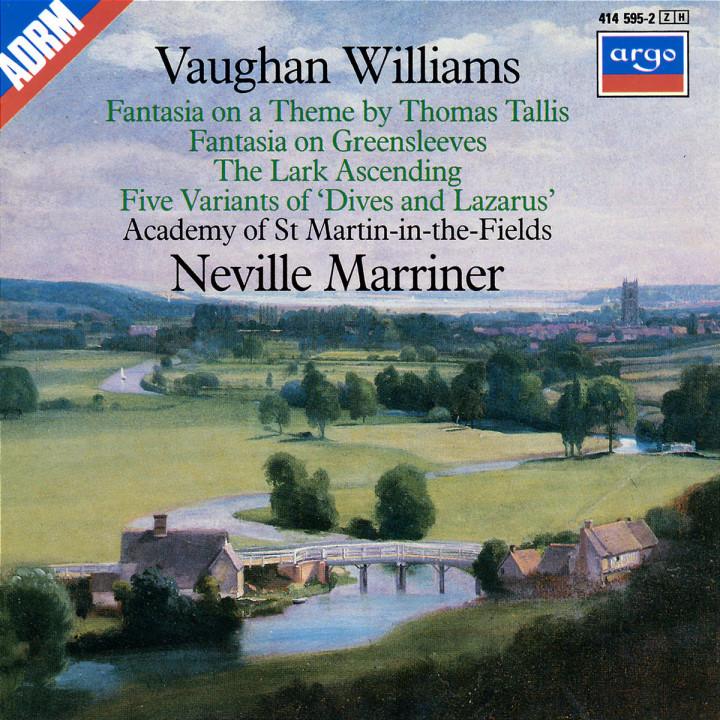 Vaughan Williams: Tallia Fantasia; Fantasia on Greensleeves; The Lark Ascending etc. 0028941459523