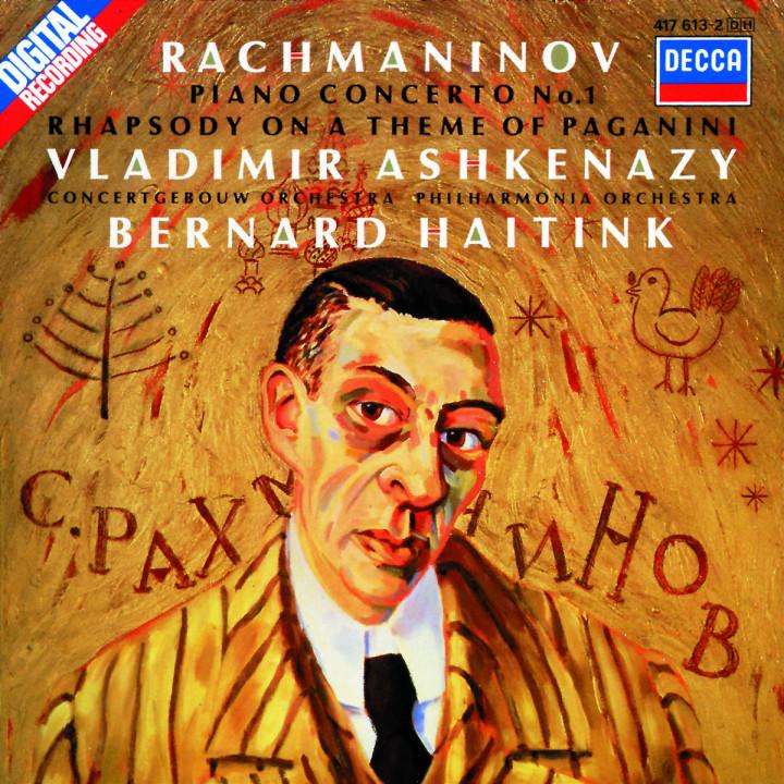 Rachmaninov: Piano Concerto No.1; Rhapsody on a Theme of Paganini 0028941761325