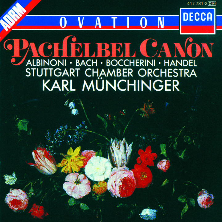 Albinoni / J.S.Bach / Handel / Pachelbel etc.: Adagio / Fugue in G minor / Organ Concerto No.4 / Ca 0028941778129