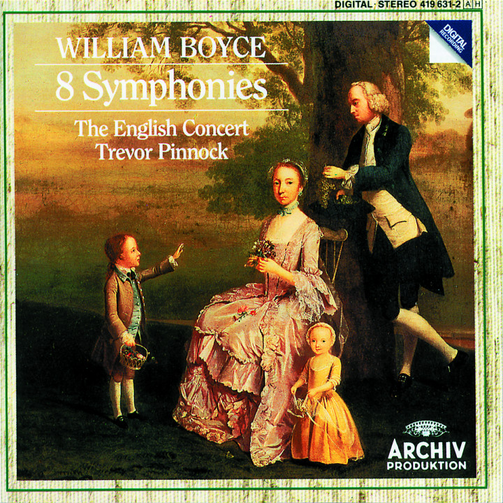 William Boyce: 8 Symphonies 0028941963123