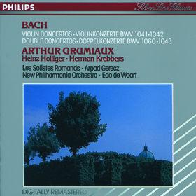 Johann Sebastian Bach, Bach, J.S.: Violin Concertos, Double Concertos, 00028942070028