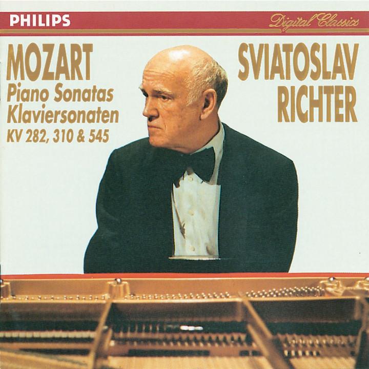 Mozart: Piano Sonatas Nos. 4, 8 & 16 0028942258327