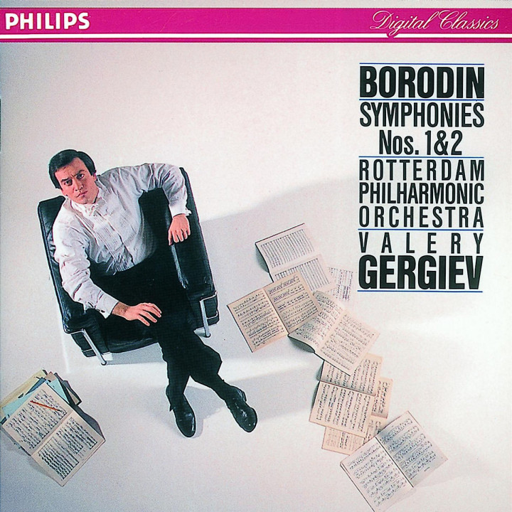 Borodin: Symphonies Nos. 1 & 2 0028942299629