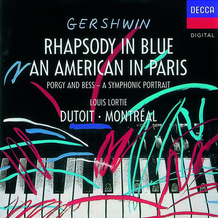 Gershwin: An American In Paris; Rhapsody in Blue 0028942511125