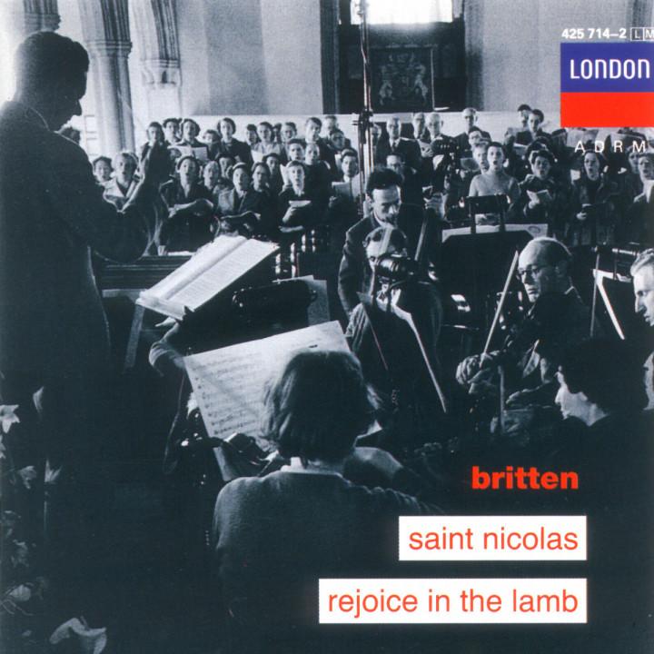 Saint Nicholas; Rejoice In The Lamb 0028942571422
