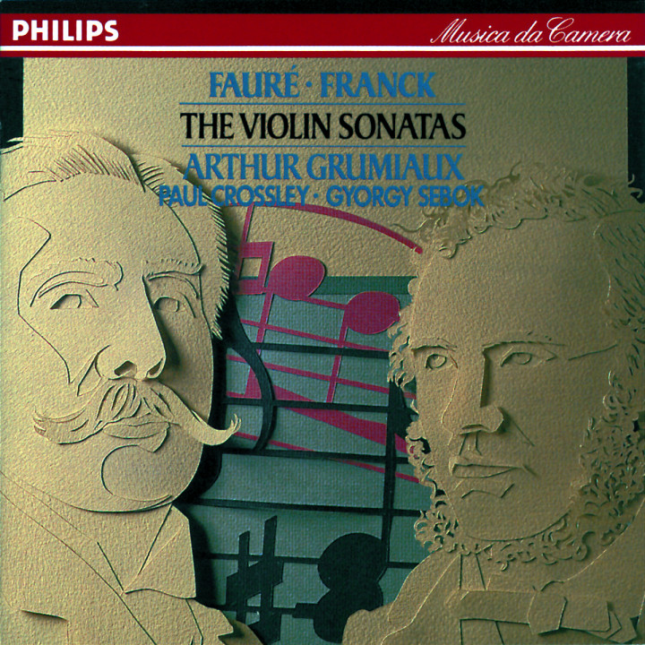Fauré: Violin Sonata in E minor / Franck: Violin Sonata in A etc. 0028942638428