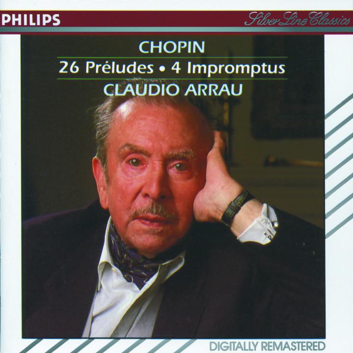 Chopin: 26 Preludes; 4 Impromptus 0028942663422