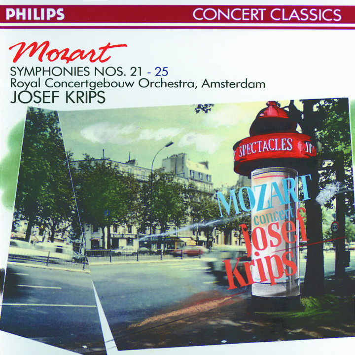 Mozart: Symphonies Nos. 21, 22, 23, 24 & 25 0028942697322