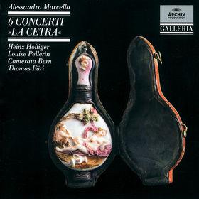 Heinz Holliger, Marcello: 6 Concerti La Cetra, 00028942713727