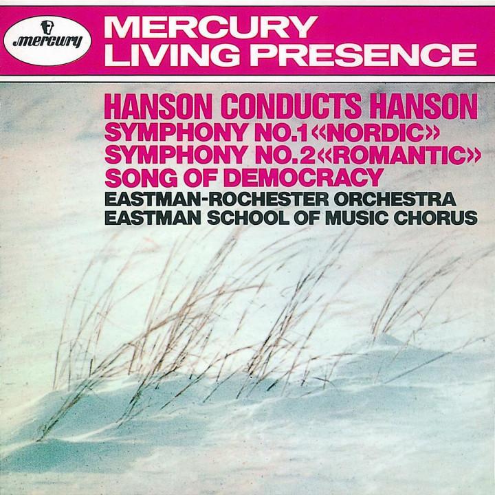 Hanson: Symphony Nos. 1 & 2 / Song of Democracy 0028943200822