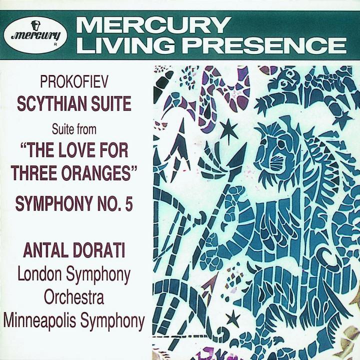 Prokofiev: Symphony No.5/The Love for 3 Oranges Suite/Scythian Suite 0028943275323