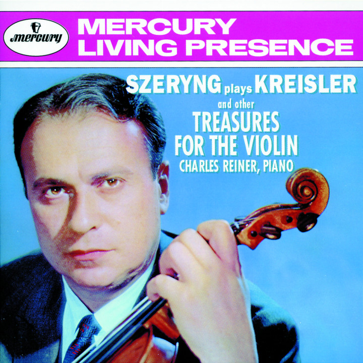 Szeryng plays Kreisler and other Treasures for the Violin 0028943435127