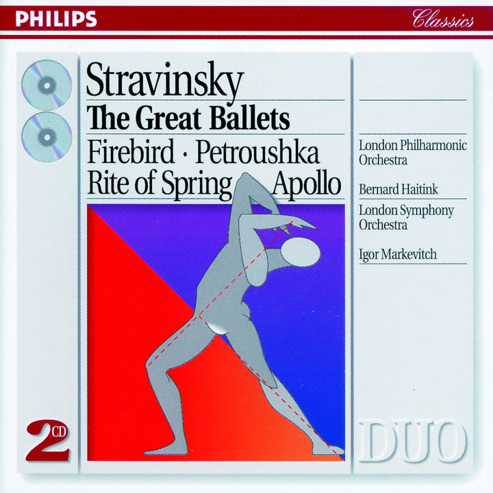Stravinsky: The Great Ballets 0028943835028
