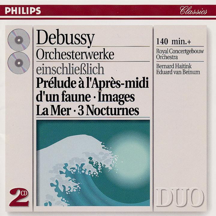 Debussy: Orchestral Music - Images/La Mer/3 Nocturnes etc. 0028943874225