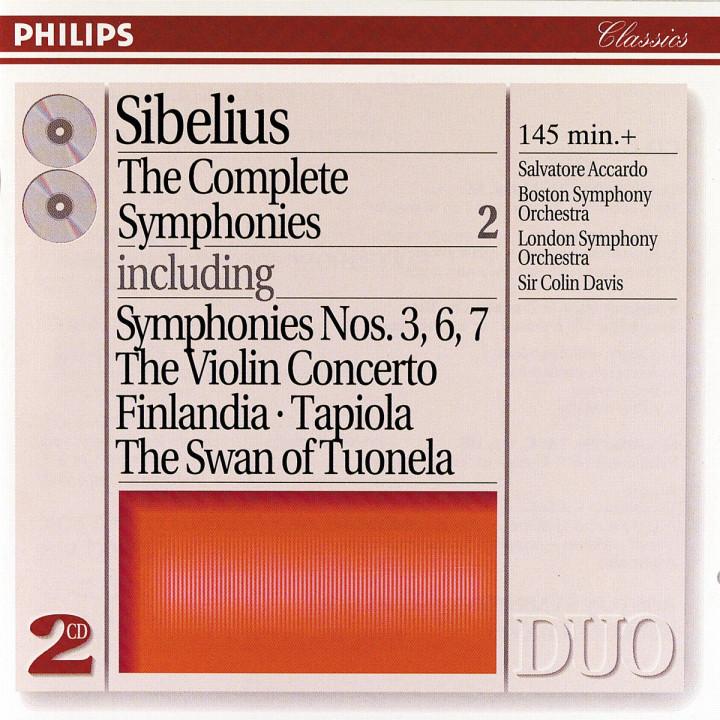 Sibelius: The Complete Symphonies, etc., Vol.2 0028944616024